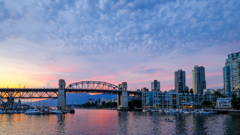 Sunset of Vancouver