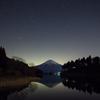 田貫湖の夜