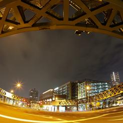 CANON Canon EOS 5D Mark IIで撮影した建物(新港サークルウォーク)の写真(画像)