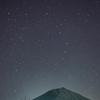 富士山とラブジョイ彗星