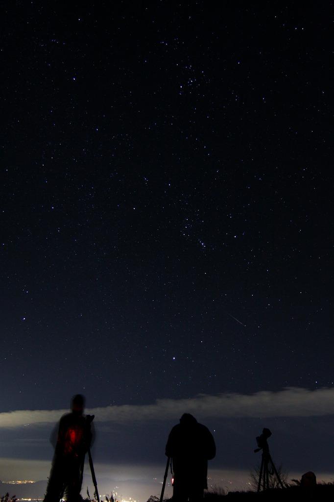 オリオン座流星群を撮る