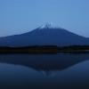 田貫湖の月出