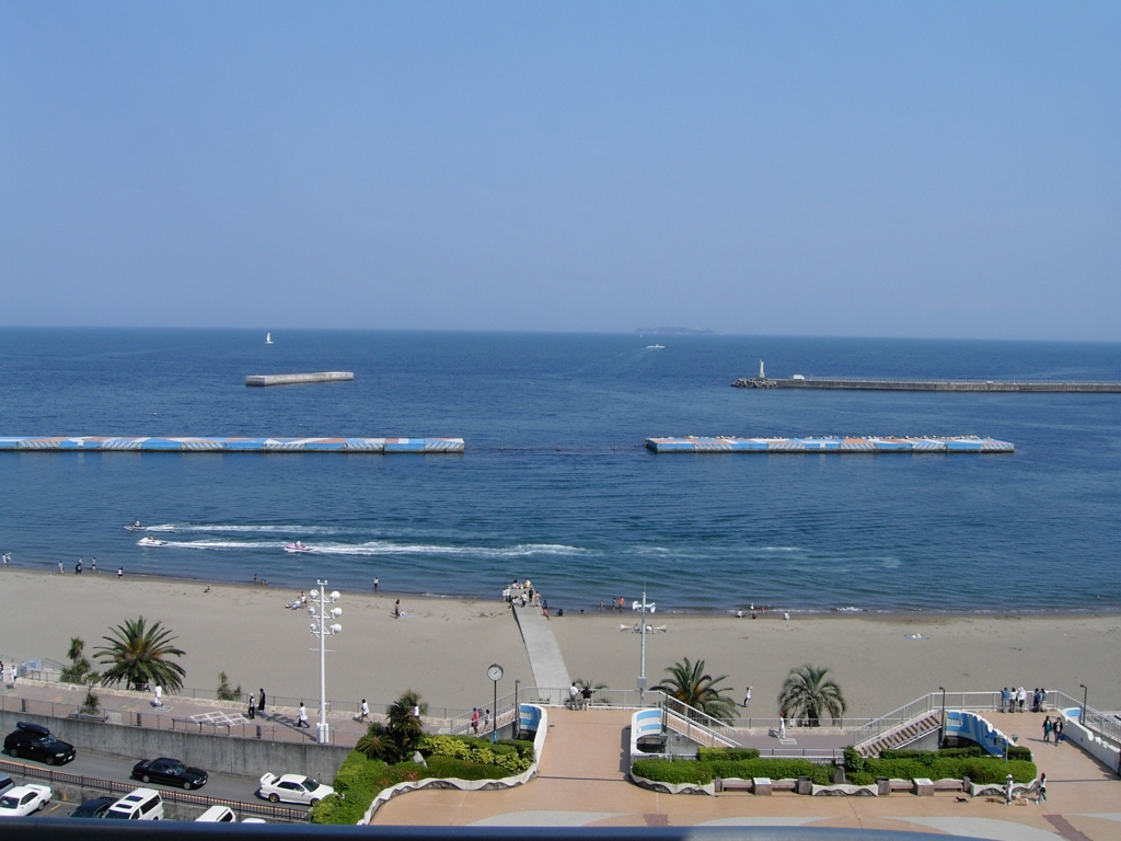 熱海からの水平線