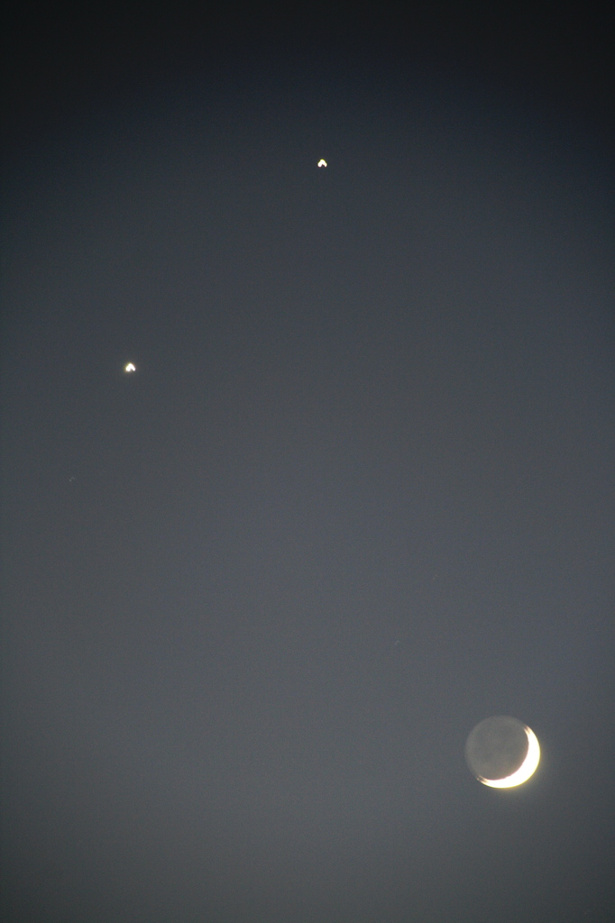 月 金星 木星