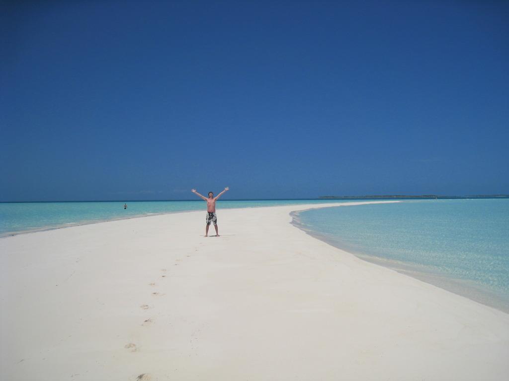 海とと砂浜。そして私・・・。