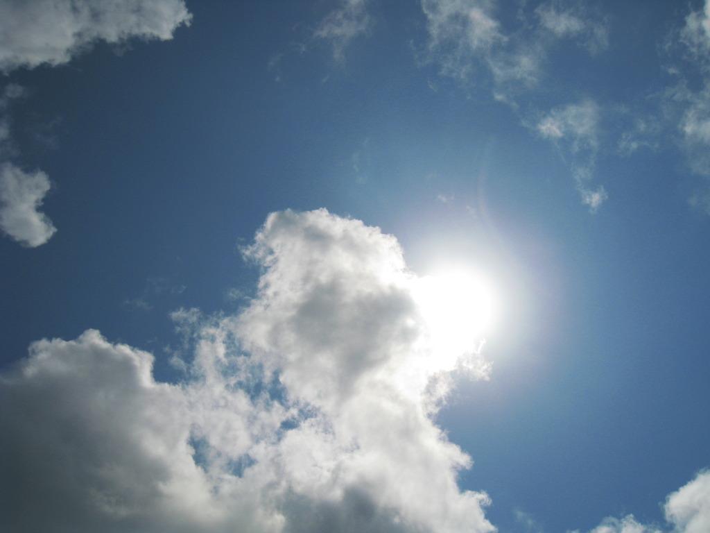 灼熱の太陽
