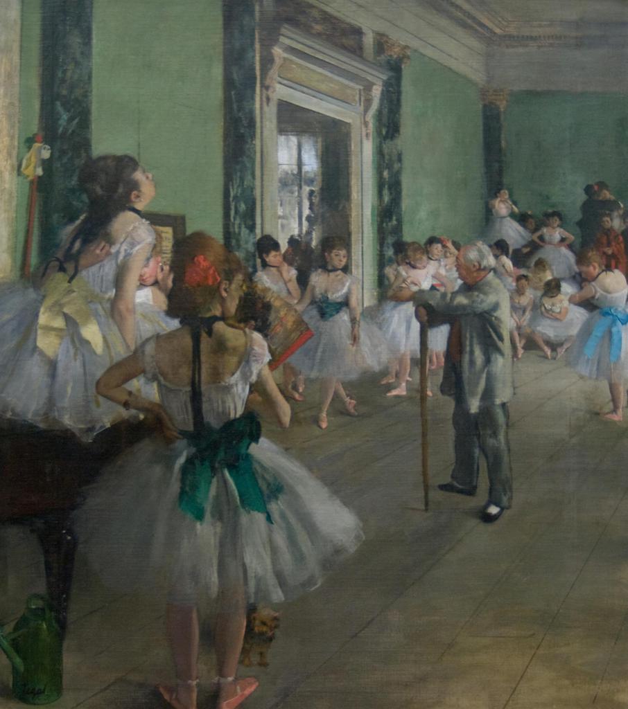 ダンス教室 / ドガ