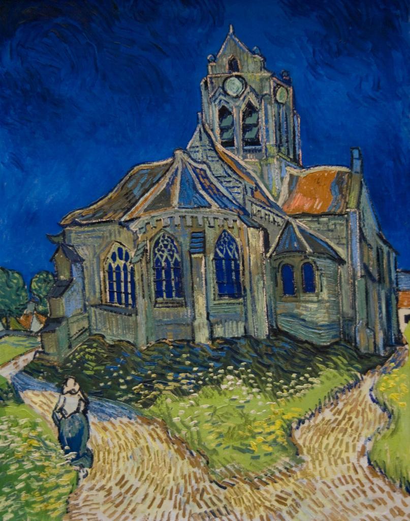 オーヴェールの教会 / ゴッホ