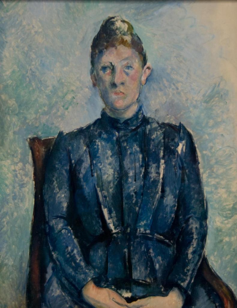 セザンヌ夫人の肖像 / セザンヌ