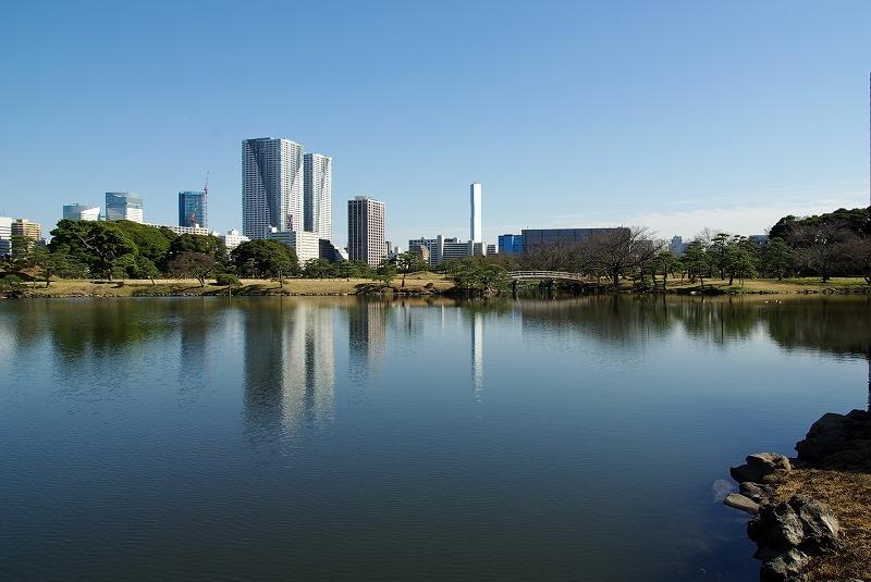 P5035浜離宮汐入の池