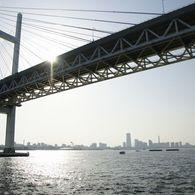 SONY DSLR-A700で撮影した風景(横浜ベイブリッジ)の写真(画像)