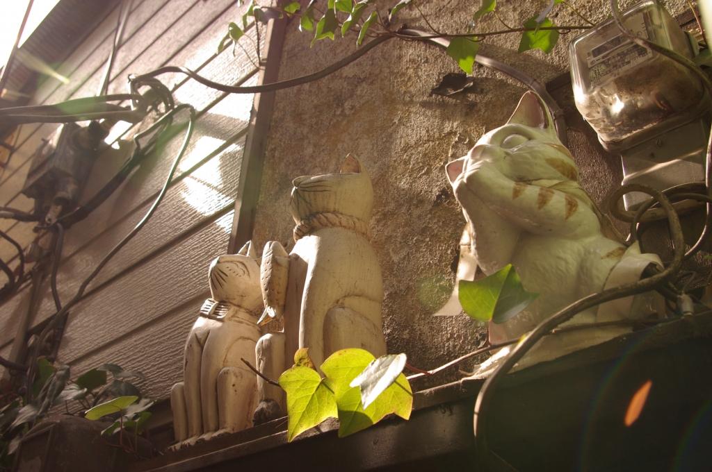 ゴールデン街の招き猫