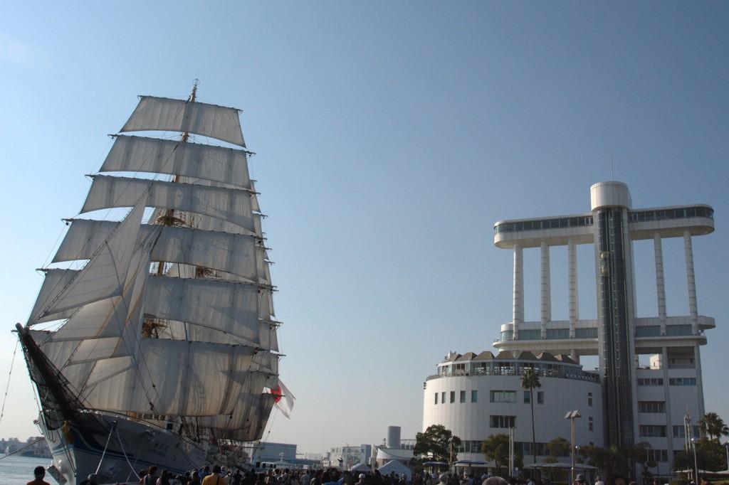 2隻の帆船