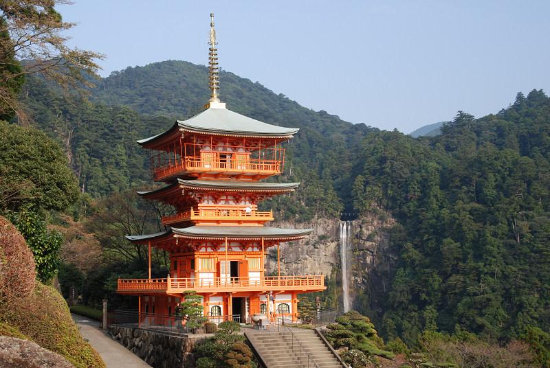 青岸渡寺&那智の滝