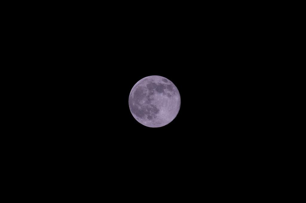 まん丸なお月さま