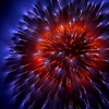 spark of fireworks