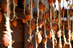 干し柿~。