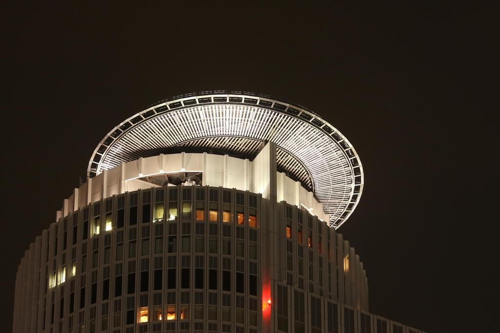 名古屋ツインタワー屋上階