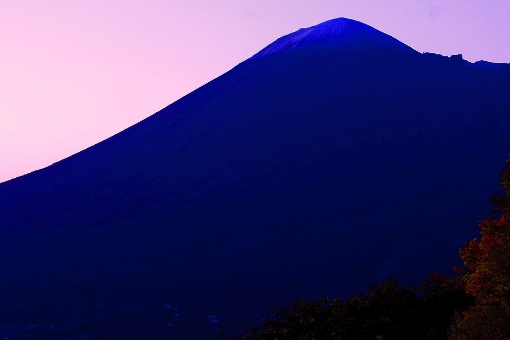 蒼き岩手山