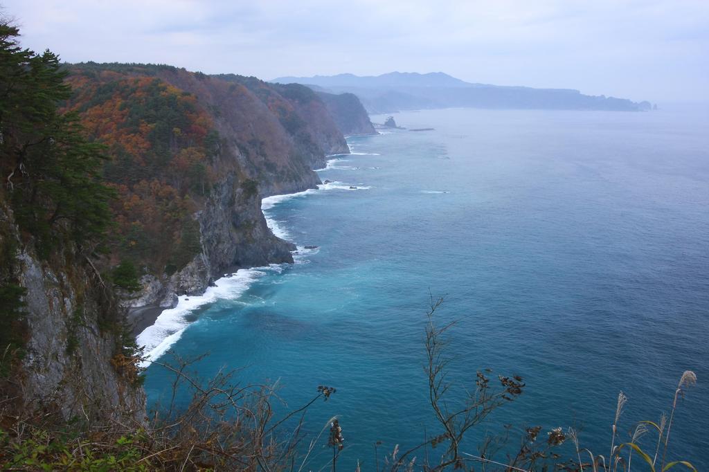 三陸の海岸線
