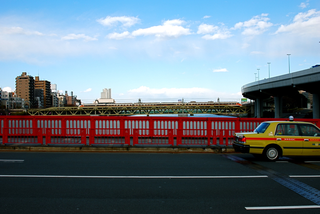 吾妻橋と東武線