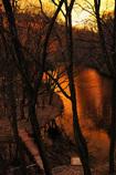 竹の山の夕焼けⅡ