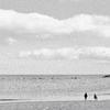 午後の海辺