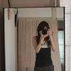 鏡ごしの自分