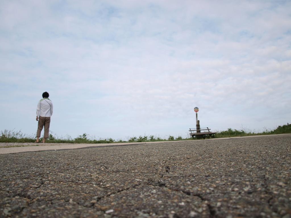 道路から目線