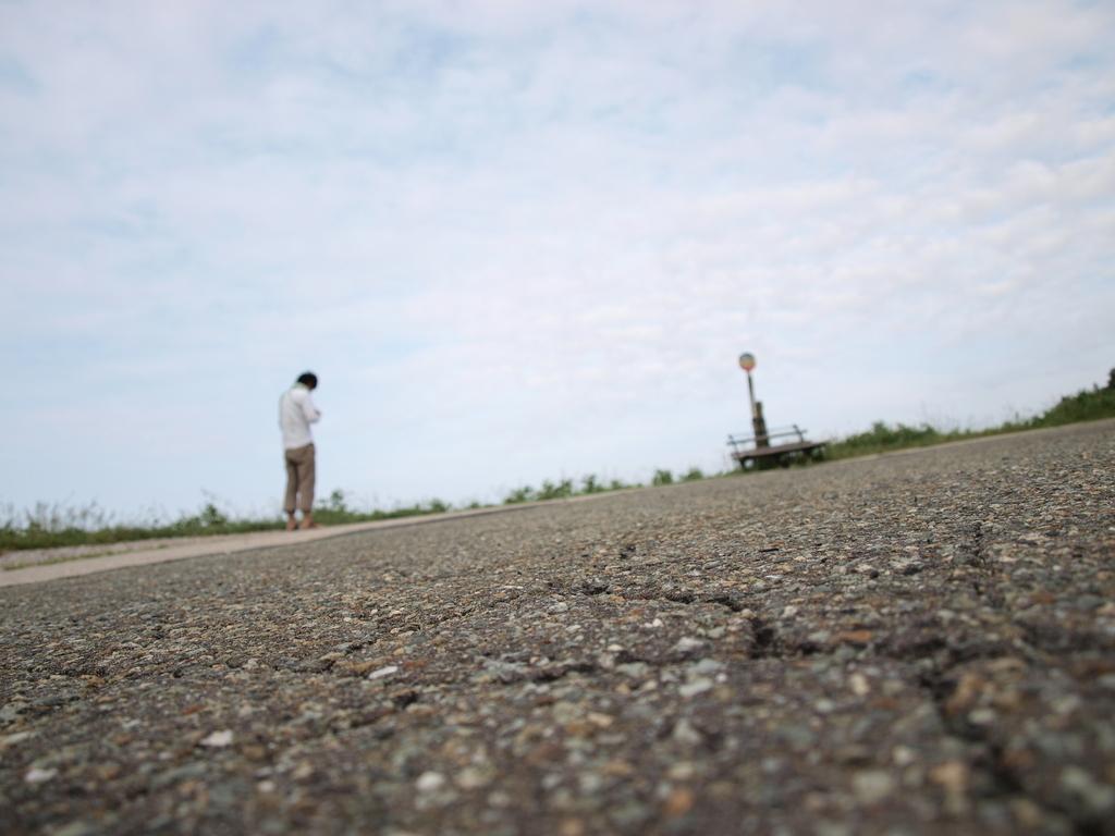 カメラ小僧とバス停