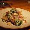 野菜と魚のマリネ