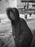 札幌・冬・路上