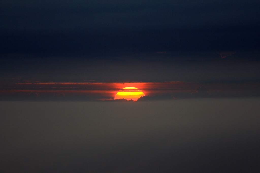 ウトロ夕陽