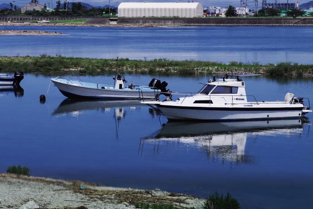 瀬戸内の船