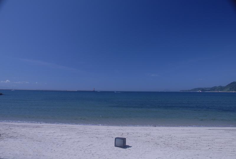 海が見える風景