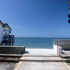 NIKON NIKON D200で撮影した風景(海の見える風景)の写真(画像)
