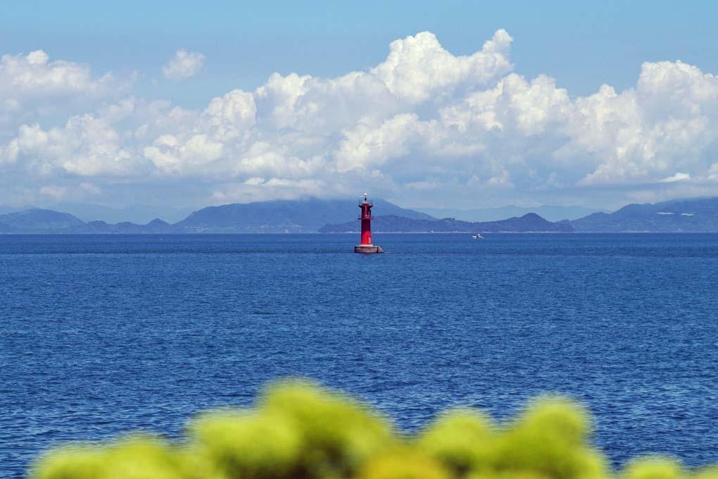 赤灯台を眺めて2