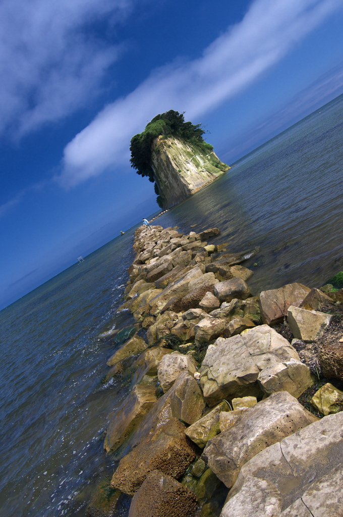 軍艦島の夏
