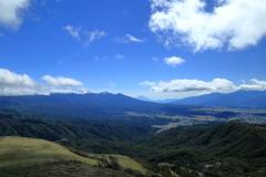 名山が見える場所