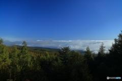 雲海のある朝