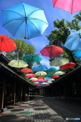 傘のいらない日