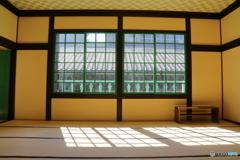 カピタン部屋の格子窓