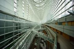 東京国際フォーラム ガラス棟の最上階