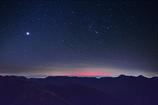 夜明け前・オリオンと金星