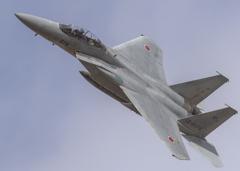 岐阜基地航空祭ーF-15機動飛行