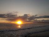 最後の夕日
