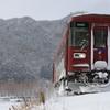長良川鉄道雪景色