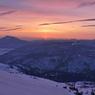 至仏山からの尾瀬の夜明け