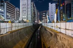 夜の渋谷川
