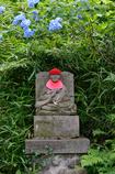 お地蔵さんと紫陽花